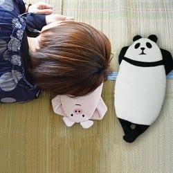 ひんやり保冷剤 動物ミニ氷枕<br />DECOLE-concombreデコレ-コンコンブル