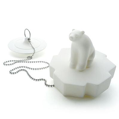 シロクマ風呂栓 PROPAGANDA DRAIN STOPPER POLAR BEAR (プロパガンダ ドレインストッパー シロクマ)