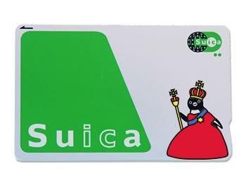 Suicaペンギン着せ替えステッカー Suca_icCARD_WEAR Queen