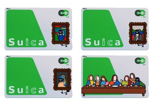 Suicaペンギン着せ替えステッカー Suca_icCARD_WEAR_art