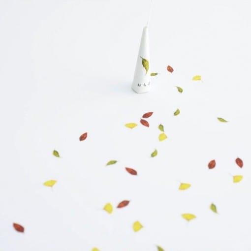 四季 デザインクラッカー 秋 落ち葉