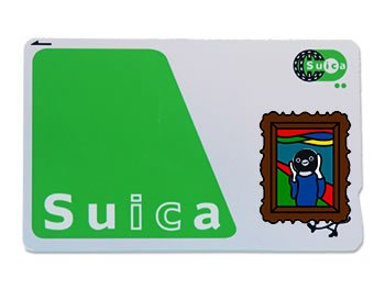 Suca_icCARD_WEAR ムンクの叫び