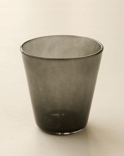 色グラス 黒瑠璃/珊瑚/琥珀