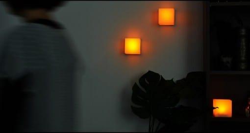 リモコン式LEDキャンドル