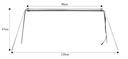 プエブコ LED ストライダーの大きさ