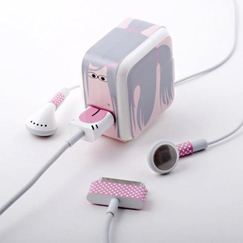 Whooz(フーズ) iPhone/iPad充電器・イヤホンシールセット