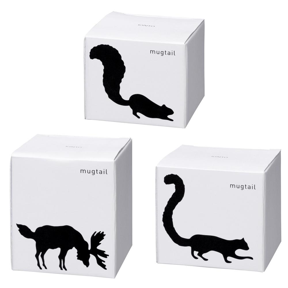 パッケージは動物のシルエットのイラスト。シンプルでちょっと