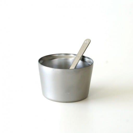 SUSgallery アイスクリームホルダーとスプーン バニラ