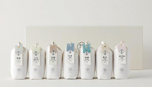 151E(いちごいちえ) 九州7県のお茶セット 特製和紙包100g[7種]