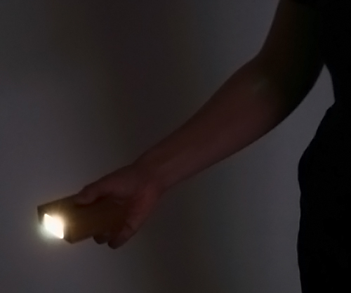 CALM センサーライト 懐中電灯