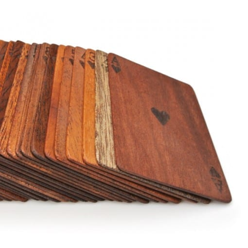 木製トランプ