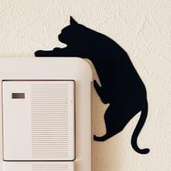 ウォールステッカー キャットライフ CAT LIFE