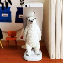 シロクマ スマートフォンスタンド 『polar bear』