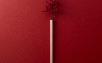 RED&WHITE一輪挿し (銅)