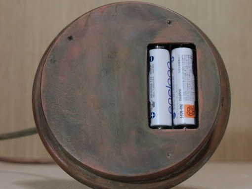 bulb terrarium単三電池で動きます
