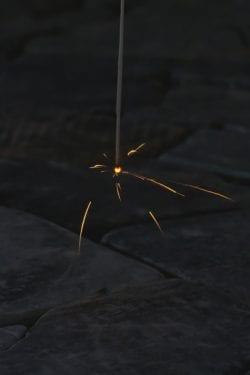 国産線香花火 筒井時正 散り菊
