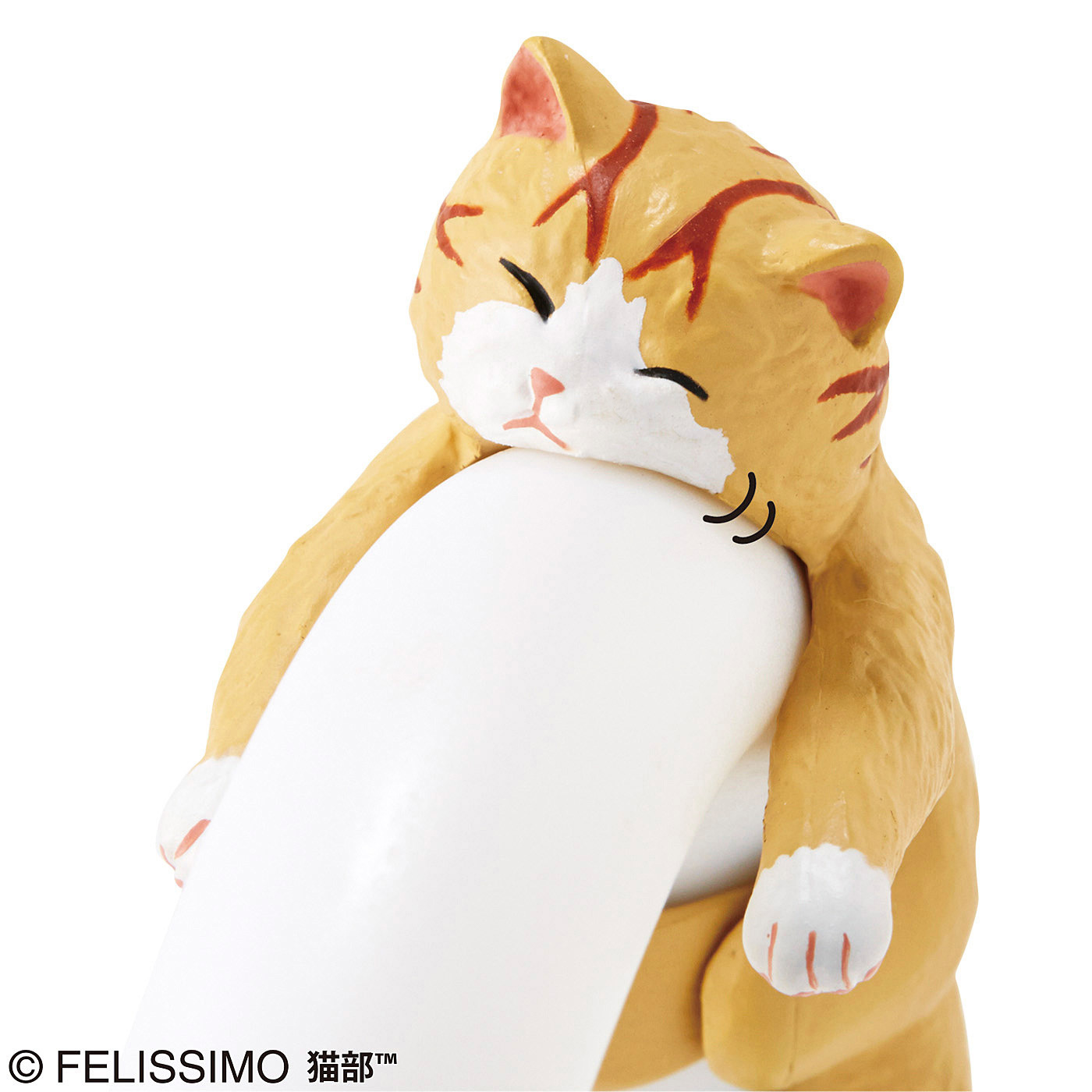 そこで寝ちゃうの? だら~ん猫の傘タグの会