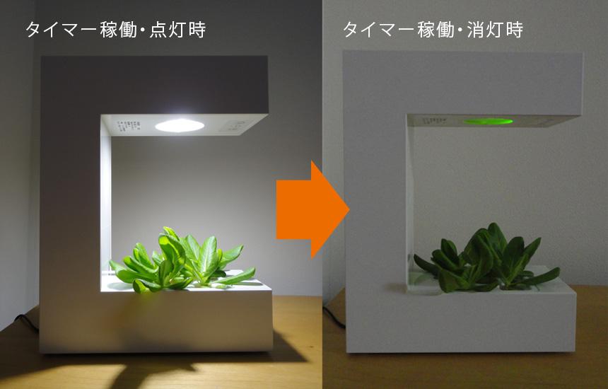 LED水耕栽培器 Akarina14