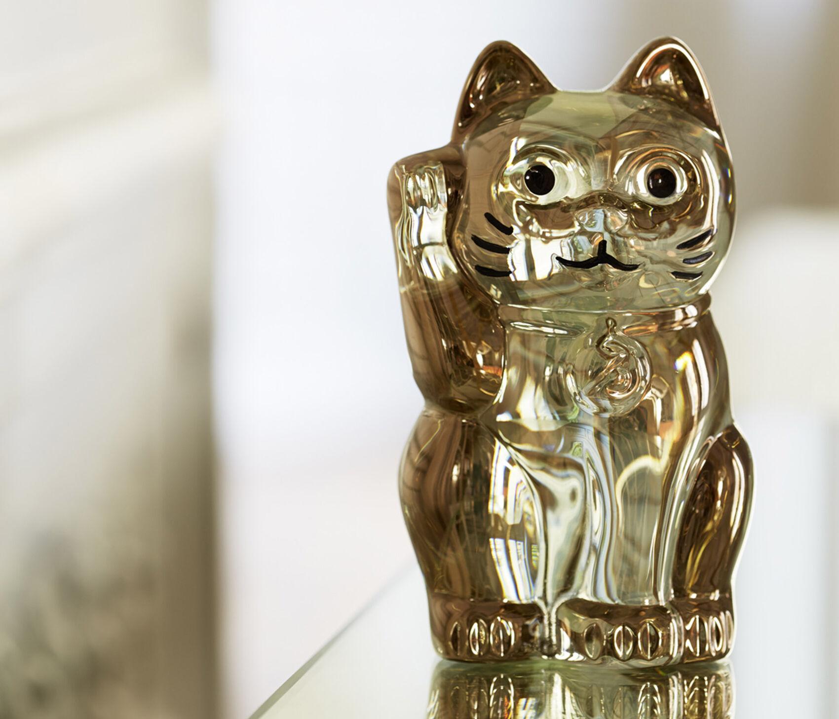 バカラまねき猫 ゴールド