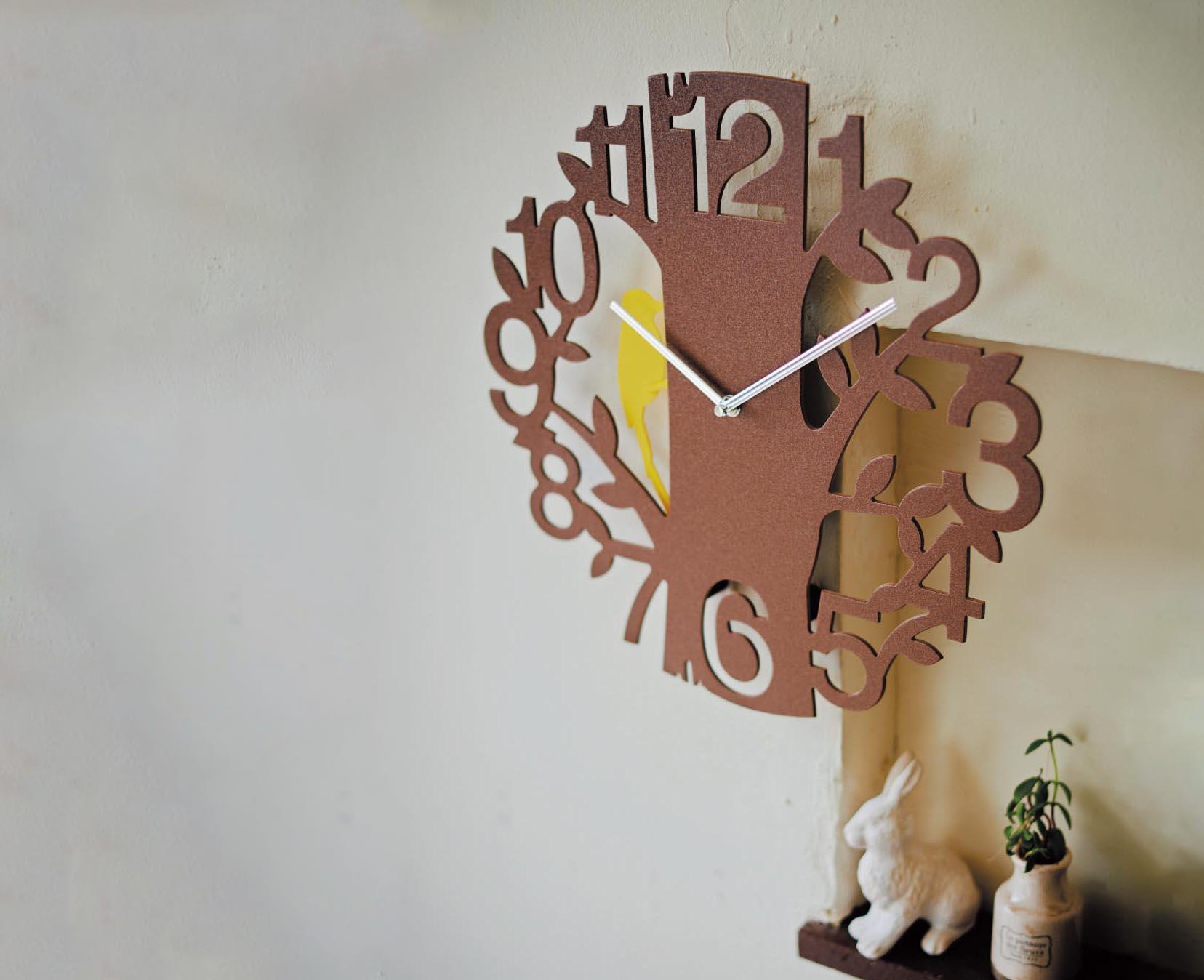 キツツキ振り子時計Picus