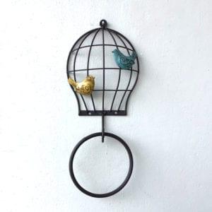 鳥かごタオルハンガー