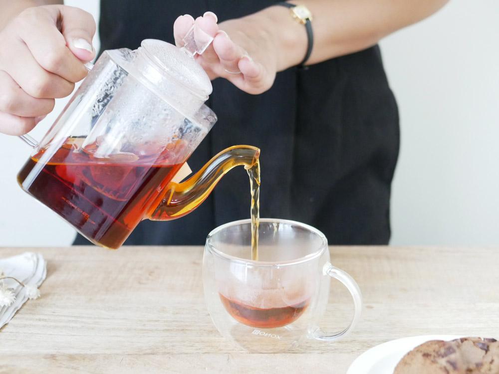 DULTON BONOX GLASS TEA POT SQUTAN スキュータン