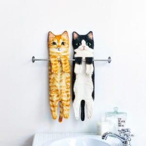 フェリシモ猫部なが~い猫タオル