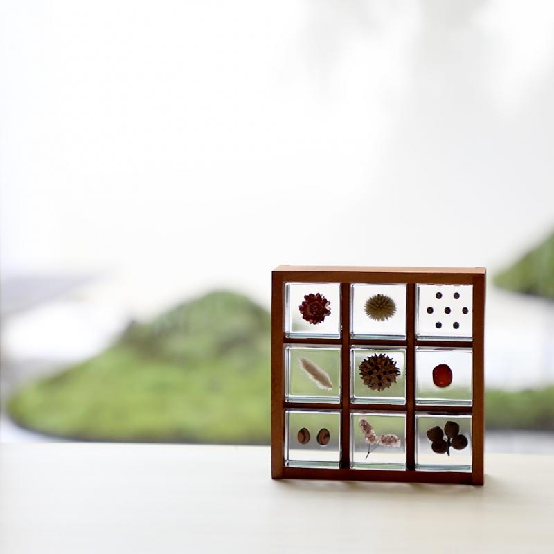 宙-Sola-キューブ 木箱