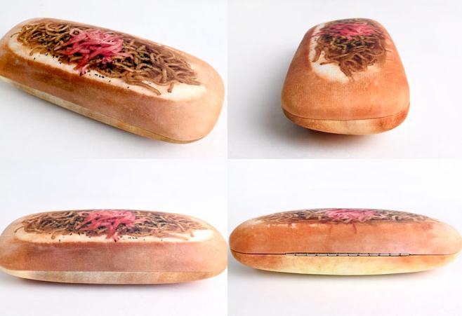 総菜パン眼鏡ケース