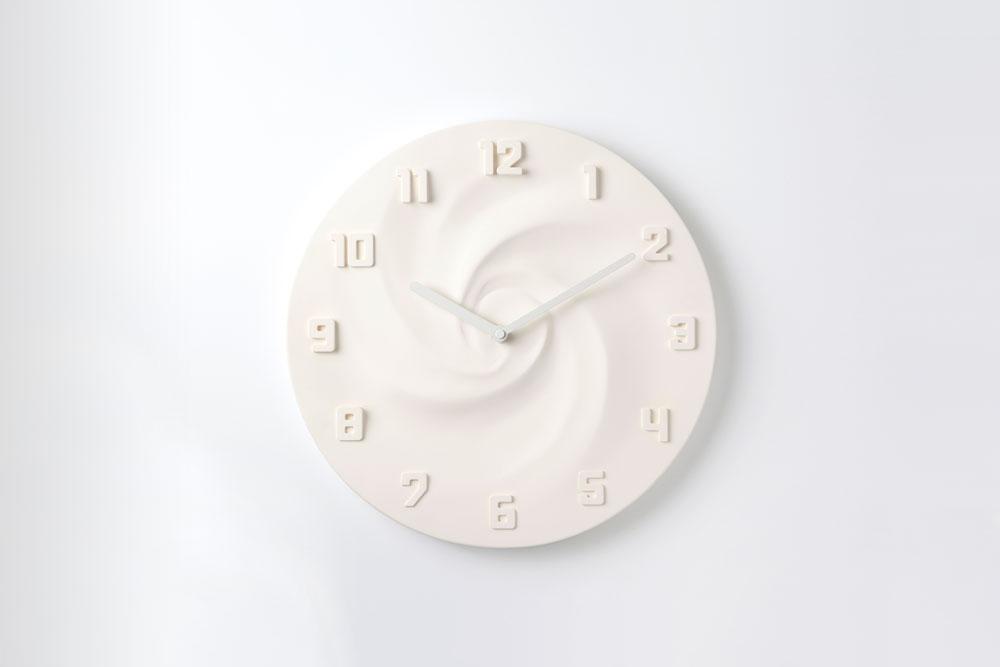 壁掛け時計CREAM(クリーム)ミルク