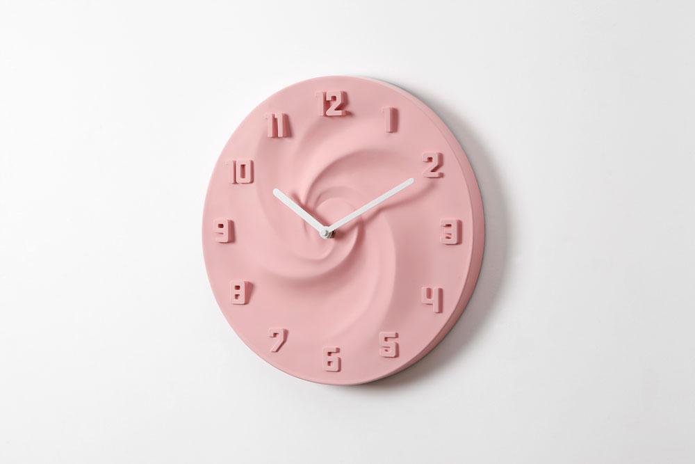 壁掛け時計CREAM(クリーム)ストロベリー