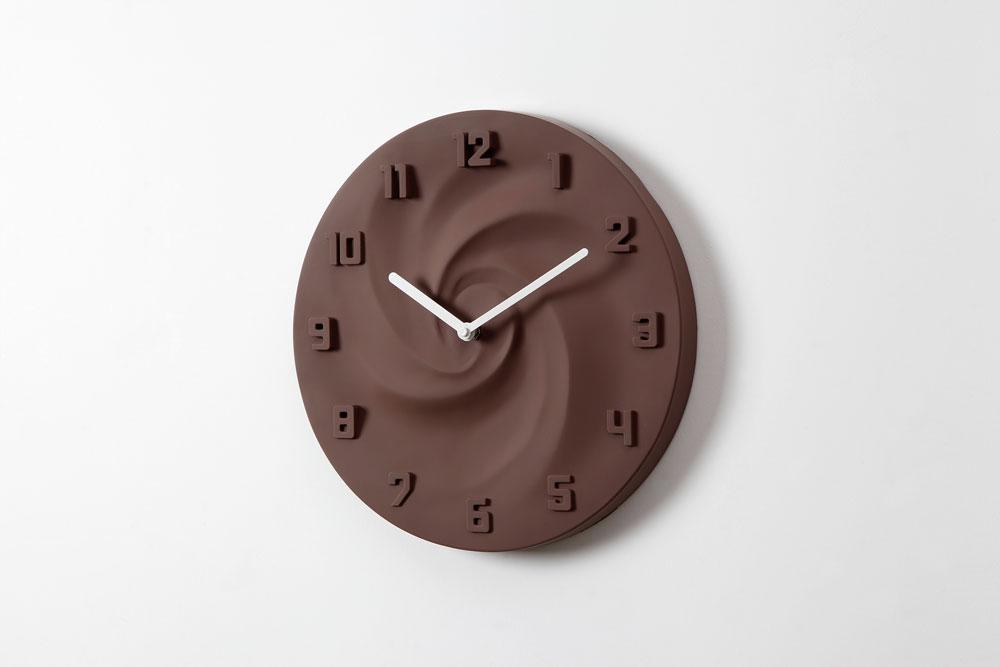 壁掛け時計CREAM(クリーム)チョコレート