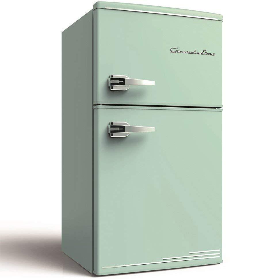 レトロデザインの冷蔵庫「Grand-Lineグランドライン」