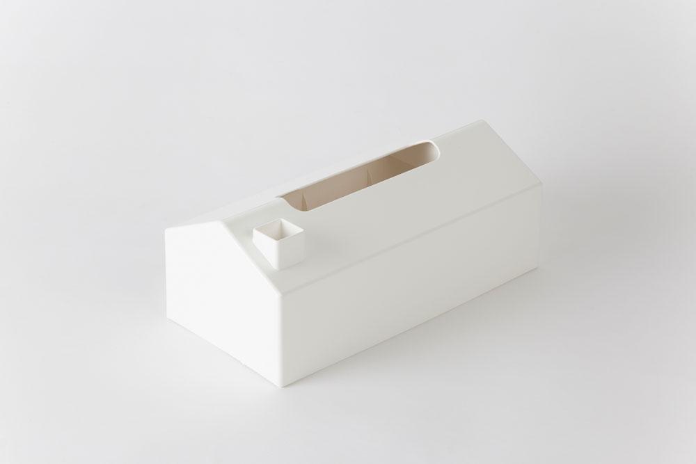 MEMORU tissue case ホワイト