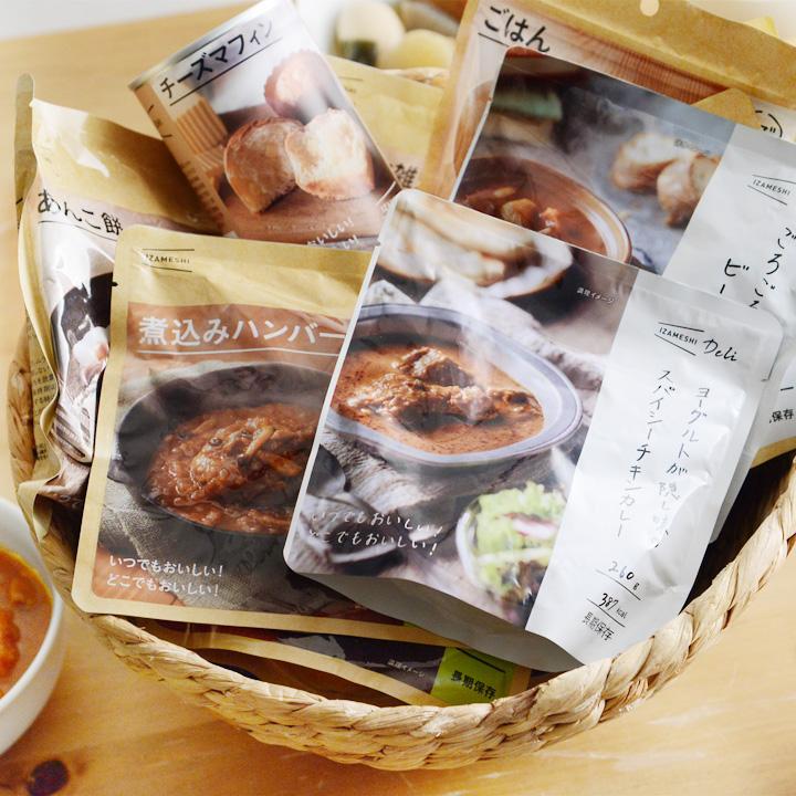 DAILY IZAMESHI3日分の保存食