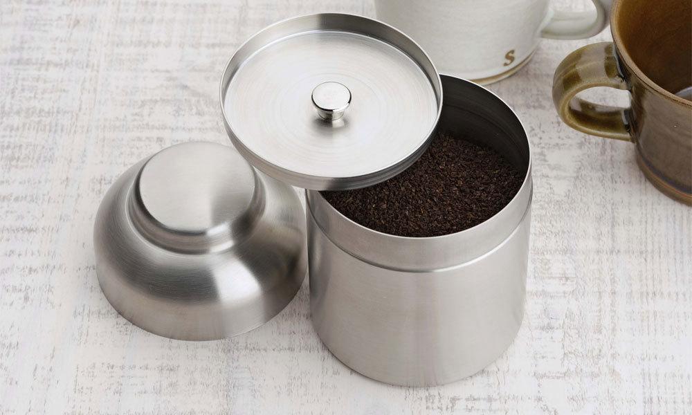 珈琲考具(コーヒーこうぐ)茶筒のような入れ物
