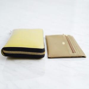 INTRODUCTION 超薄型長財布財布 薄さの比較