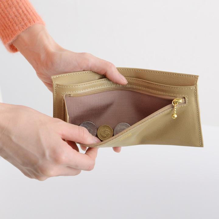 INTRODUCTION 超薄型長財布財布 小銭入れ