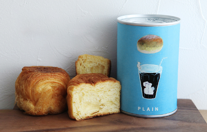 長期保存デニッシュ缶パン