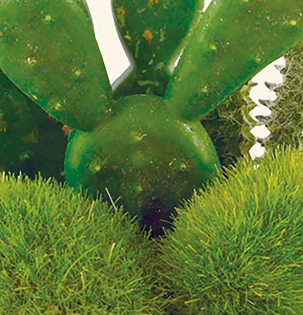 人工観葉植物 消臭アーティフィシャルグリーン コップ型