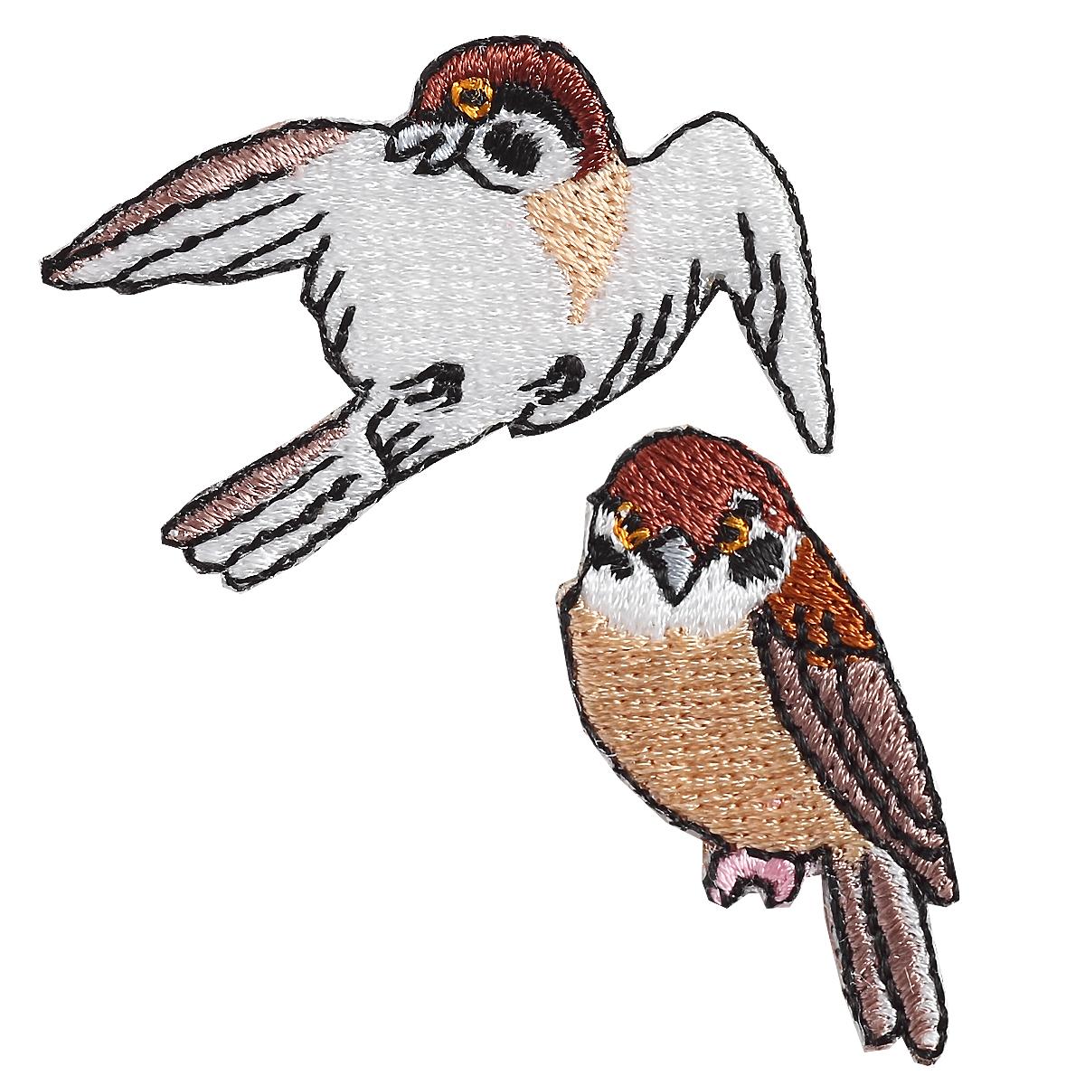 京東都(きょうとうと) 刺繍ワッペン 雀