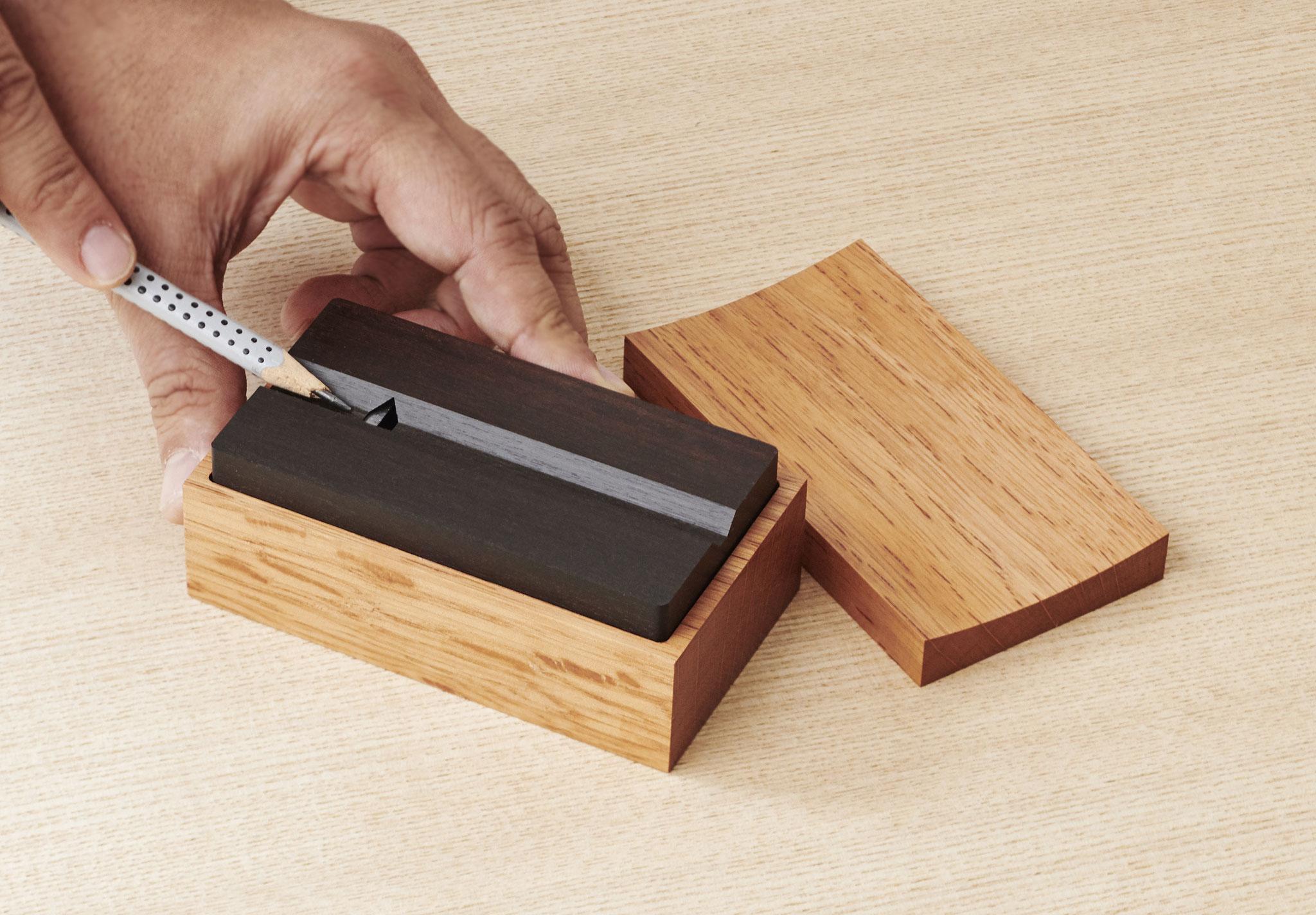 鉛筆削り Shin-Cuboid