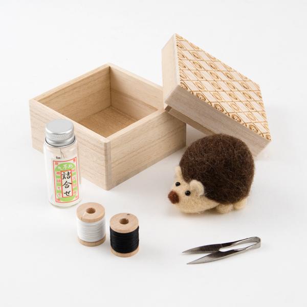 目細八郎兵衛商店ハリネズミ裁縫セット