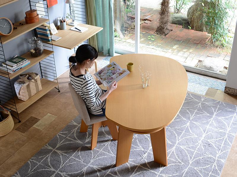 収納付きダイニングテーブルSHUNO(シュノ)