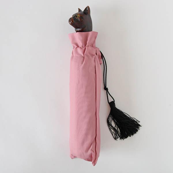 Guy de jean(ギ ドゥ ジャン)晴雨兼用折りたたみ傘 Cat 猫