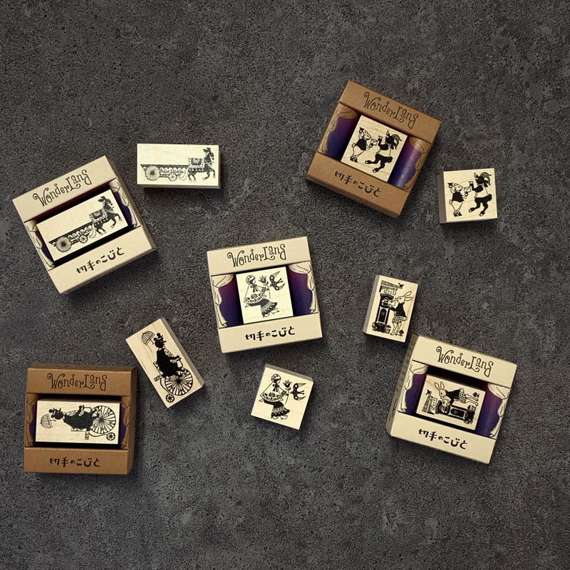 切手のこびと WonderLand