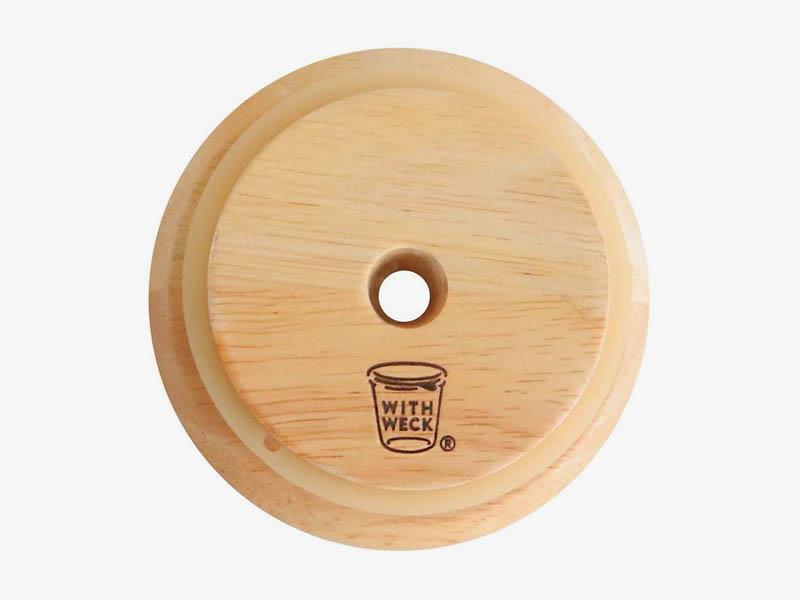 ウェックドリンクボトル用木の蓋