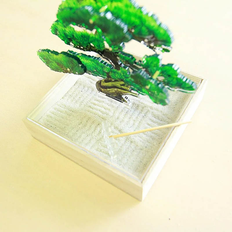 mini bonsai 枯山水