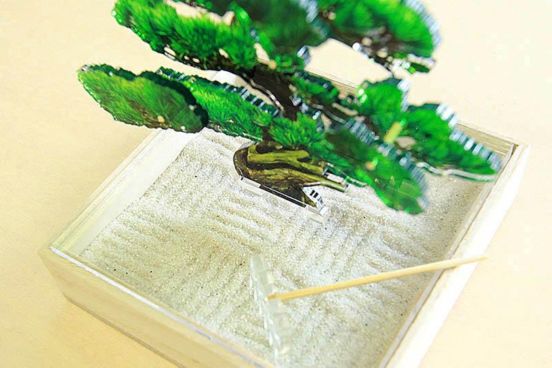 mini bonsai 枯山水