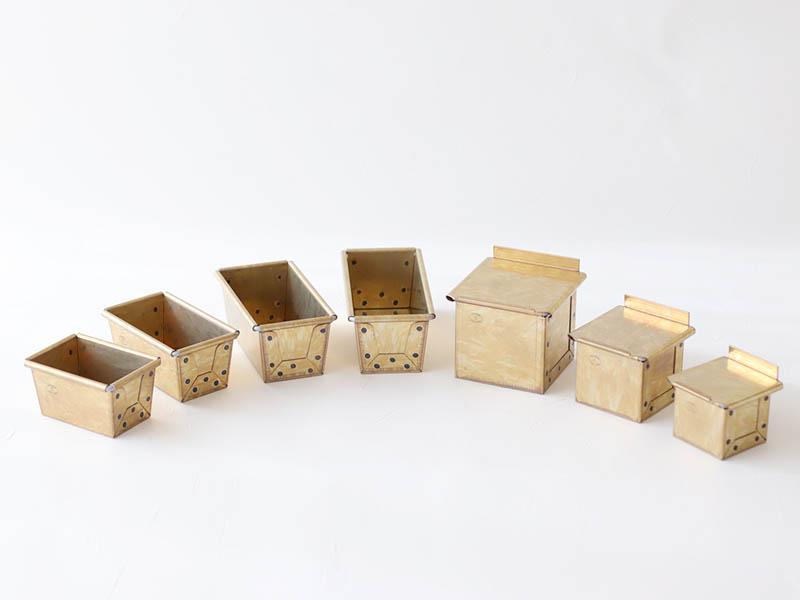 松永製作所が作る 最高級のミニ食パン型